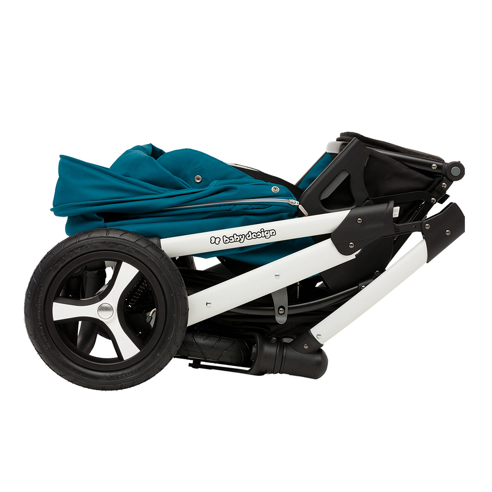 коляска в сложенном виде