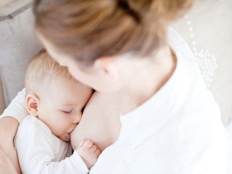Ребенок получает все нужное с молоком матери