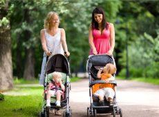 Коляска-трость — удобная для прогулок