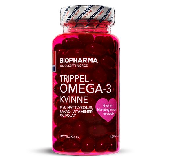 Trippel Omega-3 Kvinne от Biopharma