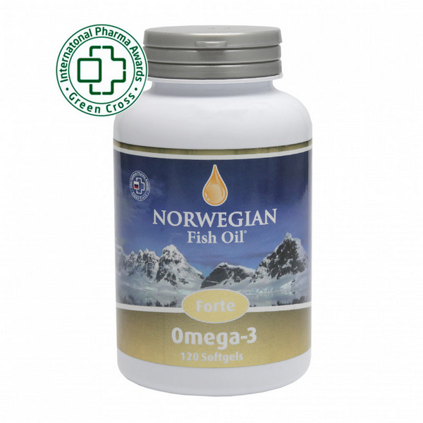 Омега-3 Forte 1000 мг от Norwegian Fish Oil