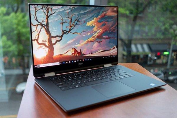 Dell XPS 15 в формате 2-в-1 (2018)