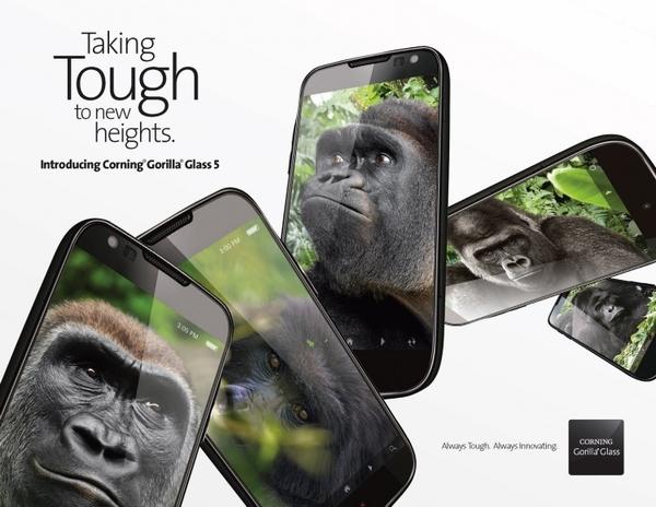 Великолепно, если у смартфона будет экран со стеклом Gorilla Glass
