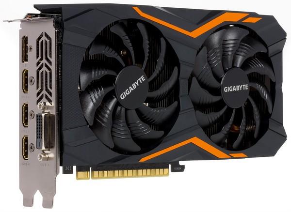 GIGABYTE GeForce GTX 1050 Ti ОС