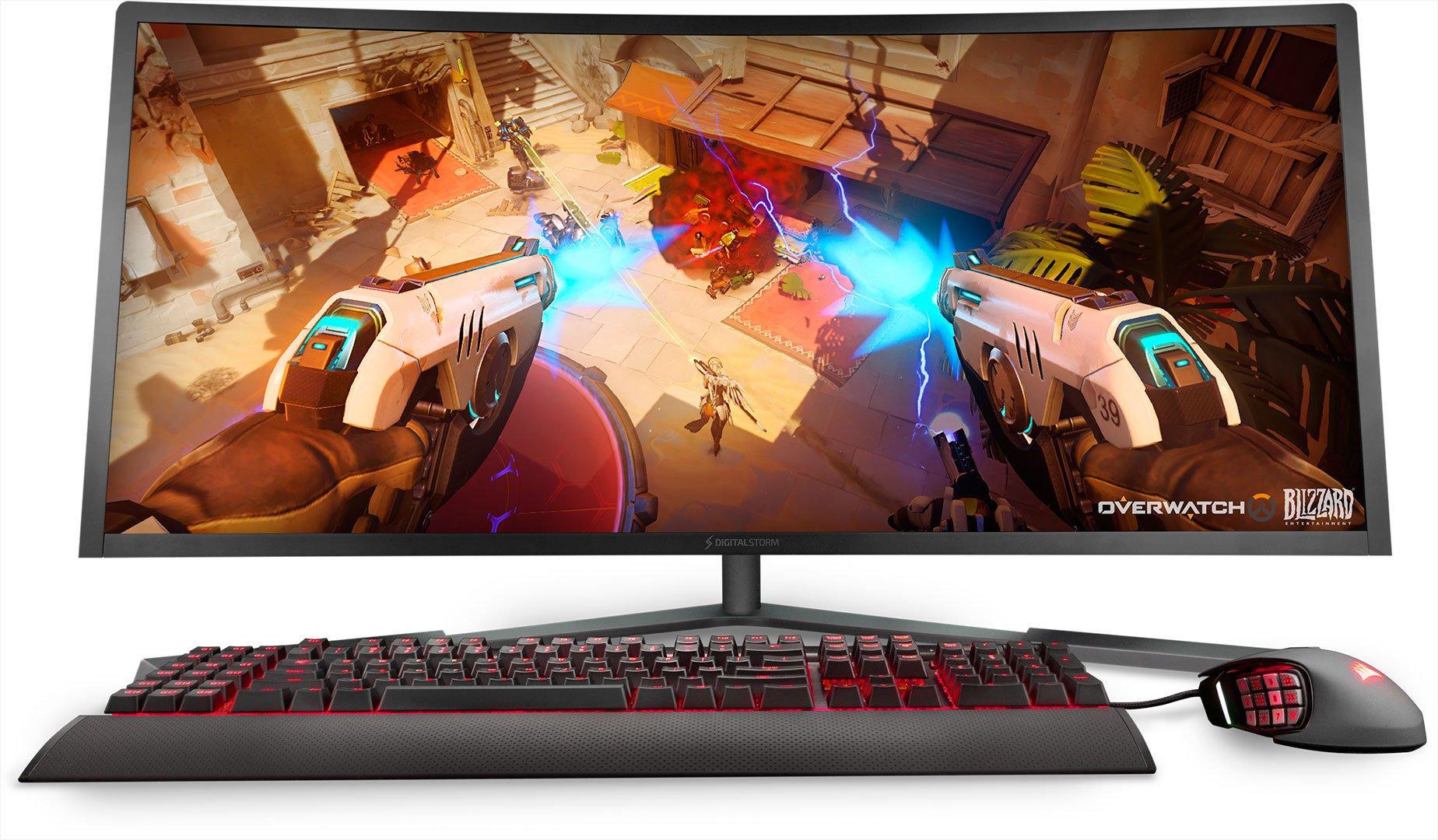 Мощный игровой моноблок с графикой Nvidia GTX 1080