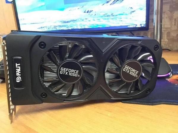 Palit GeForce GTX 1050 Ti Dual ОС