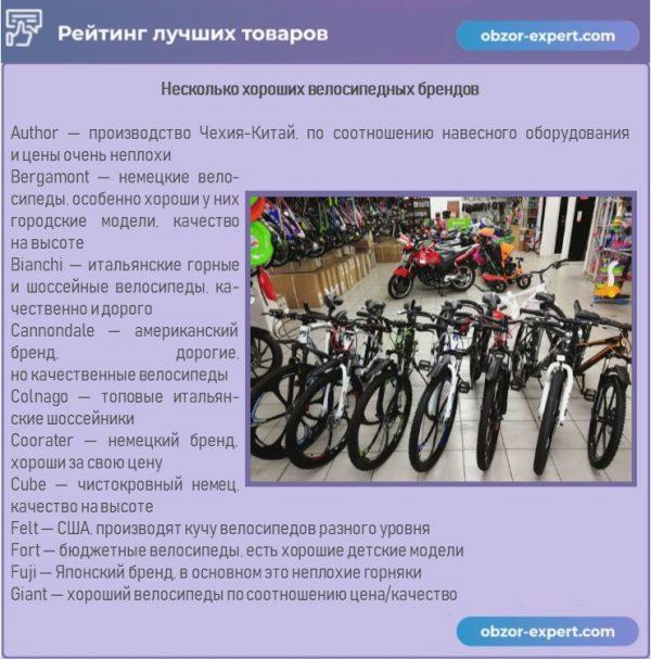 Производители велосипедов