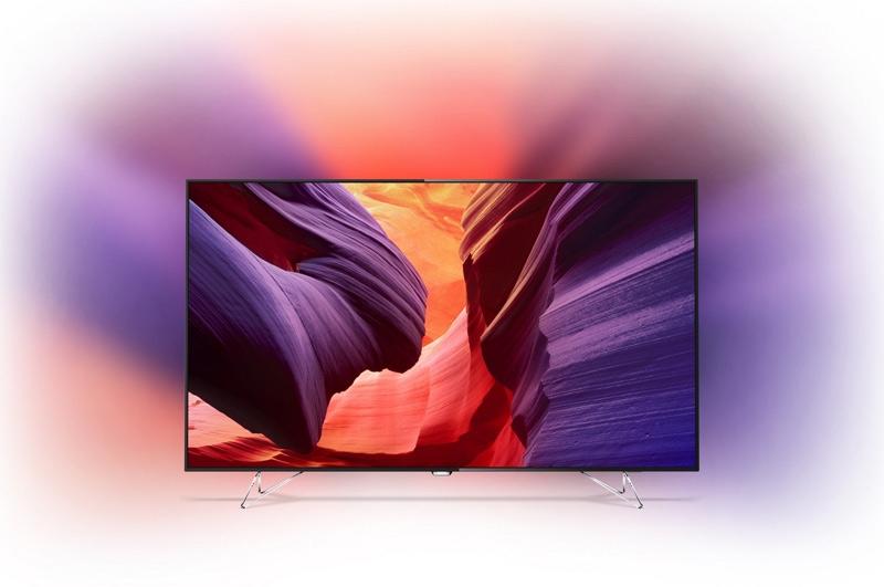 Телевизор Philips с технологией ambilight