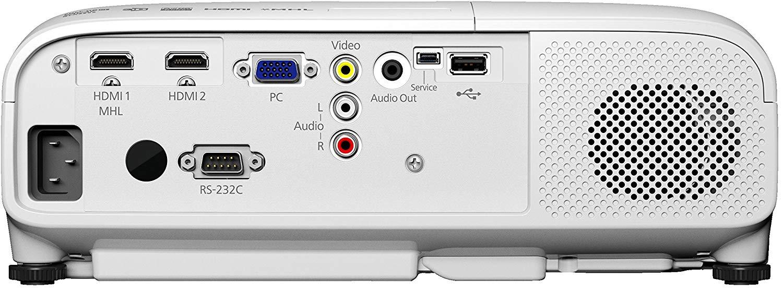 В стандартный набор разъемов большинства проекторов входят HDMI- и VGA-интерфейсы