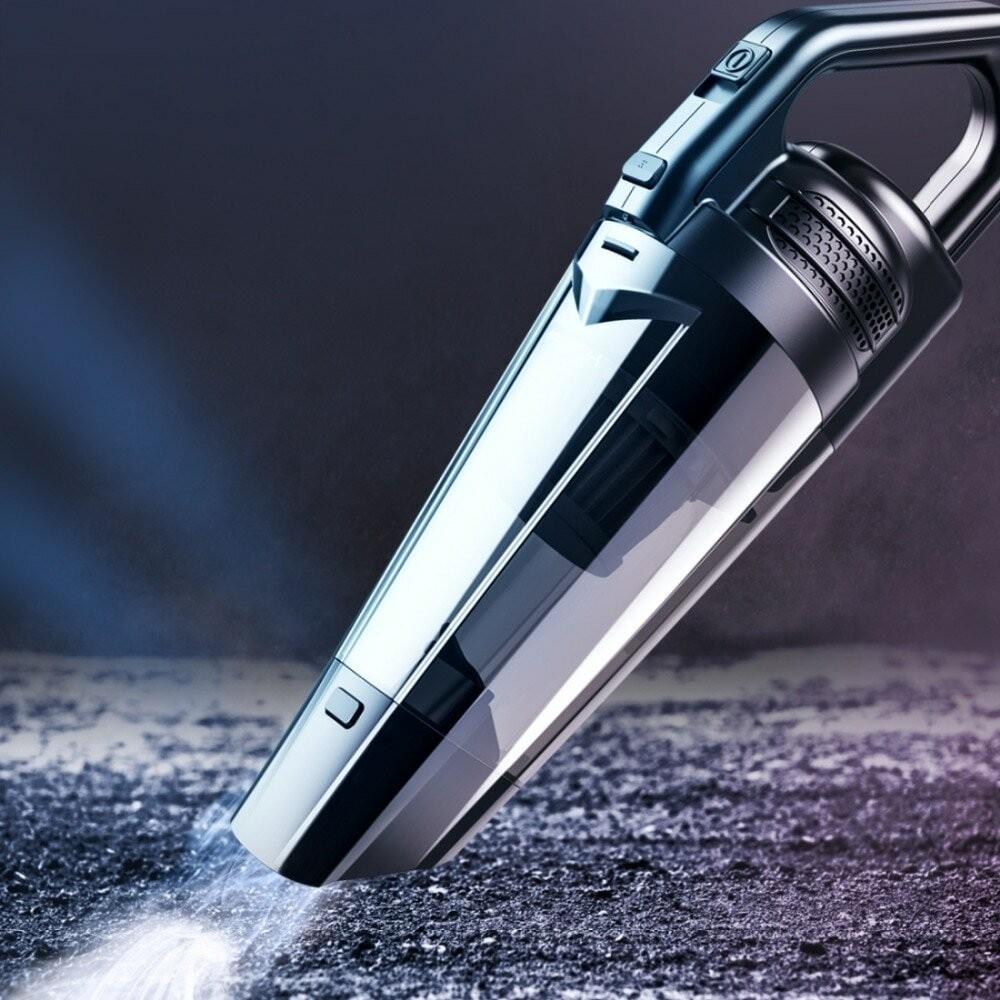 Дополнительные функции расширяют возможности пользования автомобильным пылесосом
