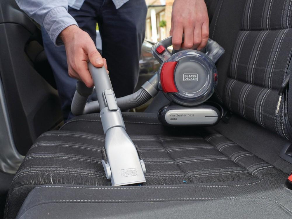 Существуют разные типы автомобильных пылесосов