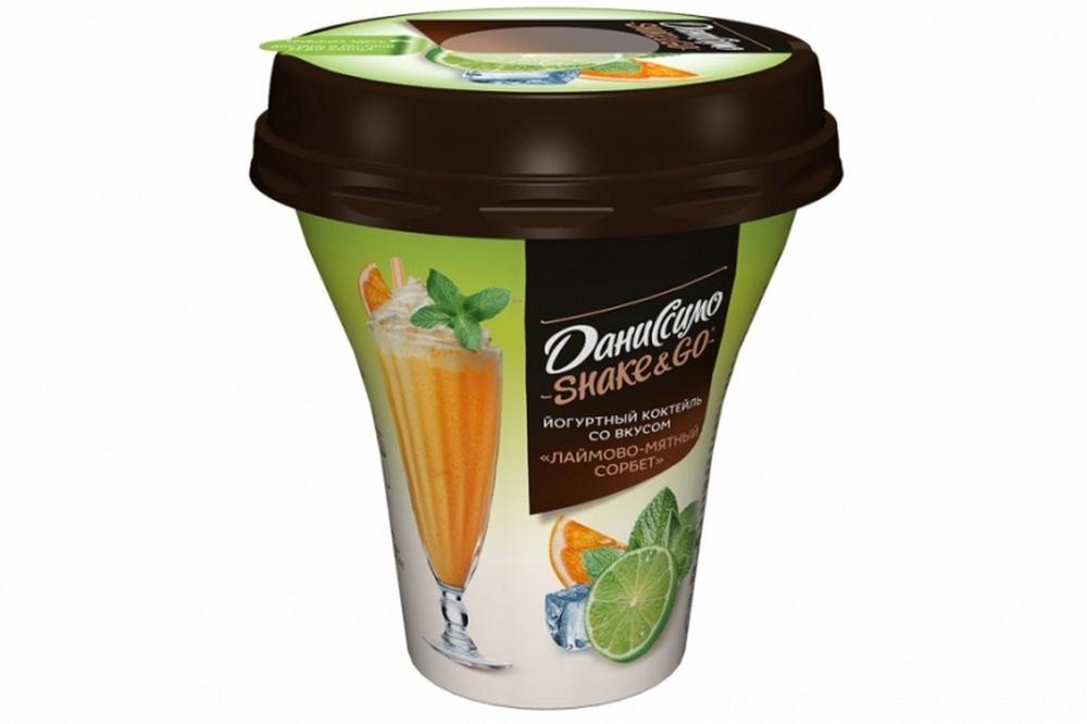 Питьевой йогурт Даниссимо Shake&Go