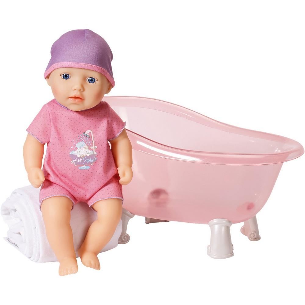 Кукла Zapf Creation Baby Annabelle с ванночкой