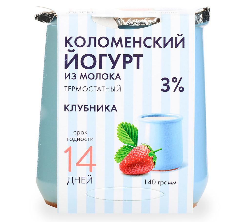 Йогурт Коломенское