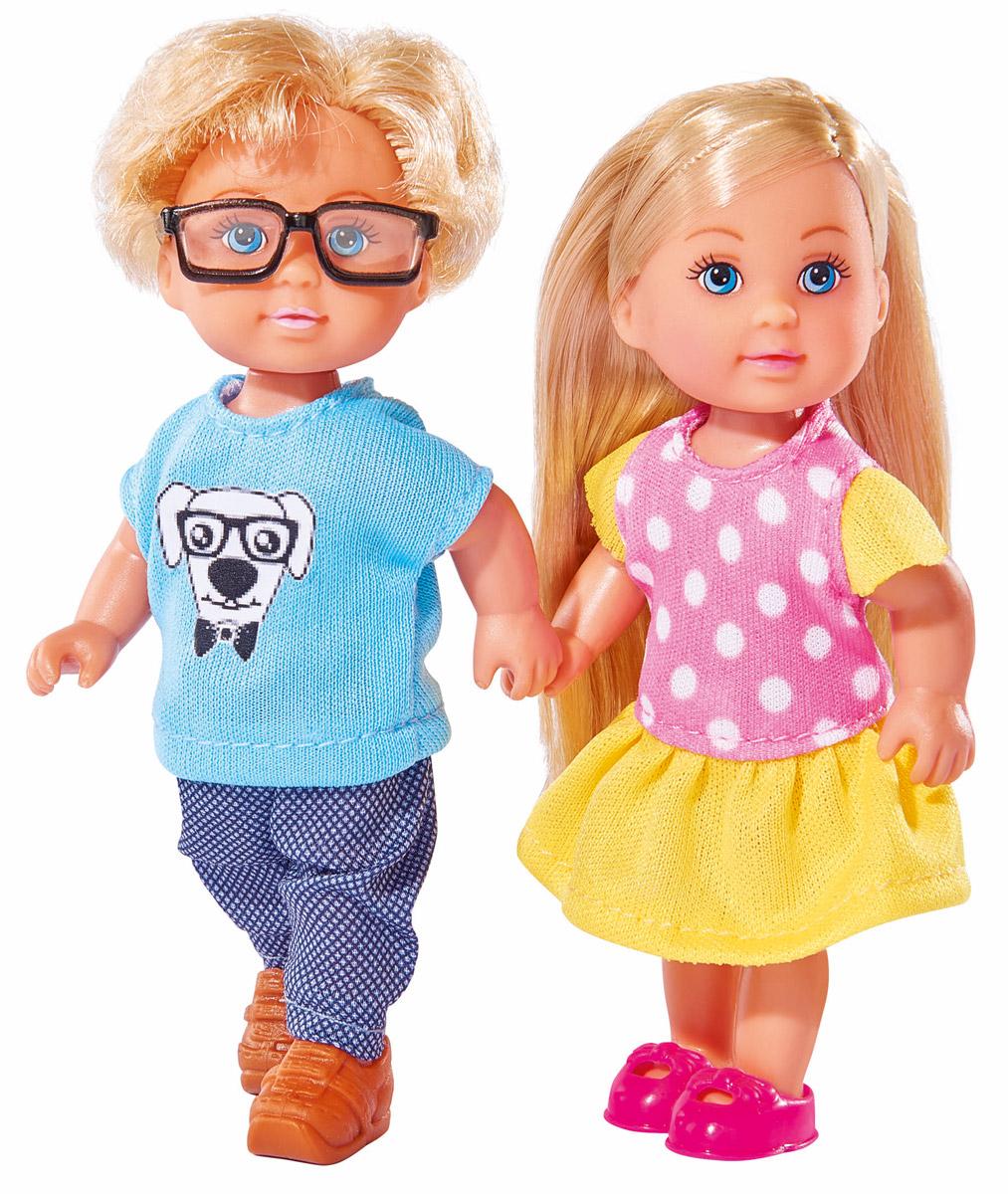 Набор кукол Simba Еви и Тимми