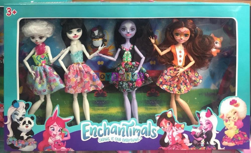 Набор из 4 кукол Enchantimals