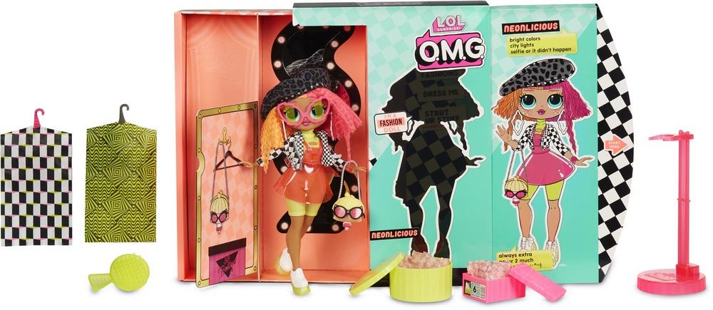 Кукла-сюрприз MGA Entertainment LOL Surprise OMG Fashion Neonlicious