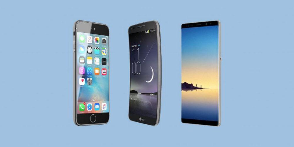 Металл и пластик – основной материал для корпуса телефона