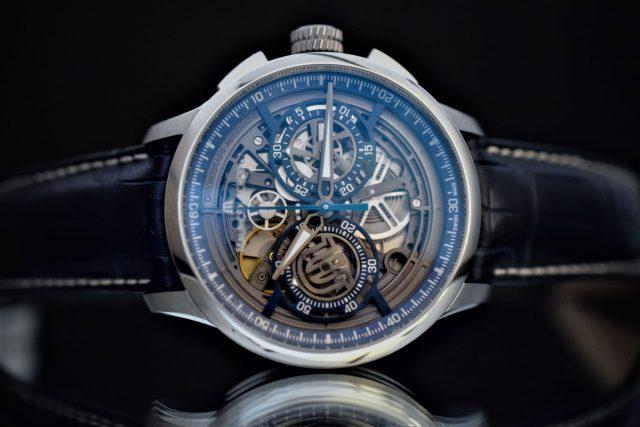 Часы Maurice Lacroix Masterpiece Chronograph Skeleton