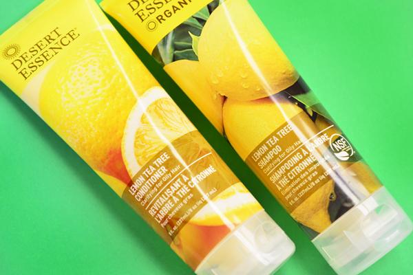 Desert Essence Organics Lemon tea tree
