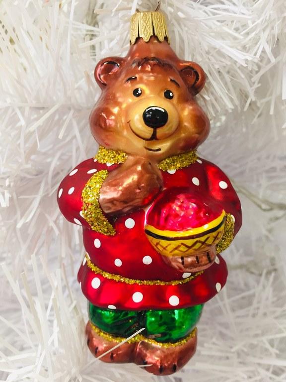 """Елочная игрушка """"Медведь"""""""