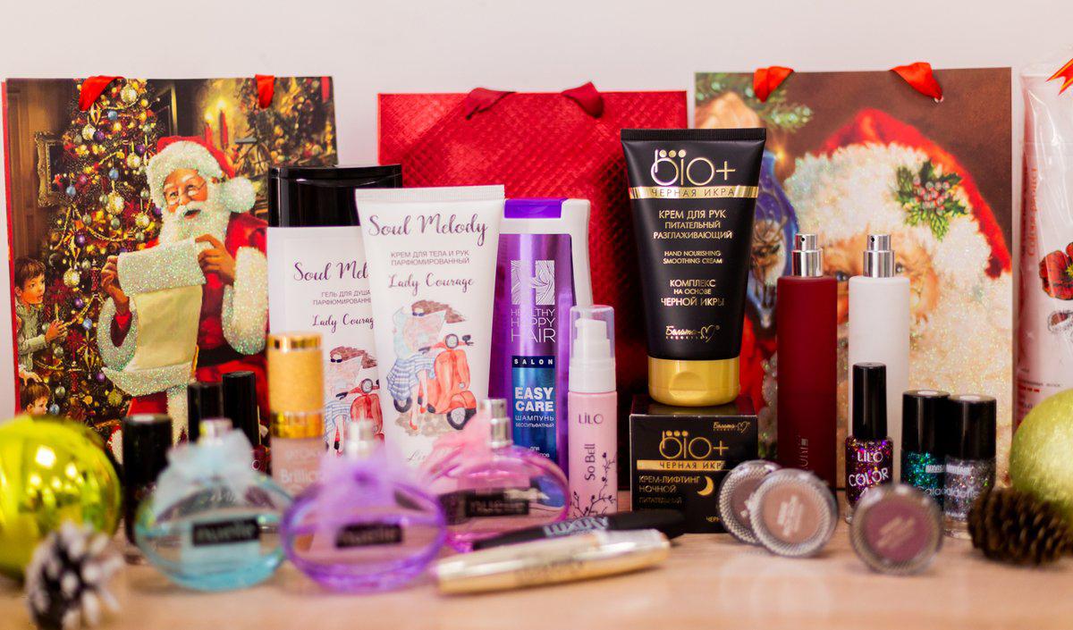 Косметический набор - отличный подарок для любой женщины
