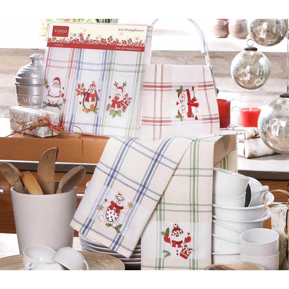 Набор подарочных кухонных полотенец