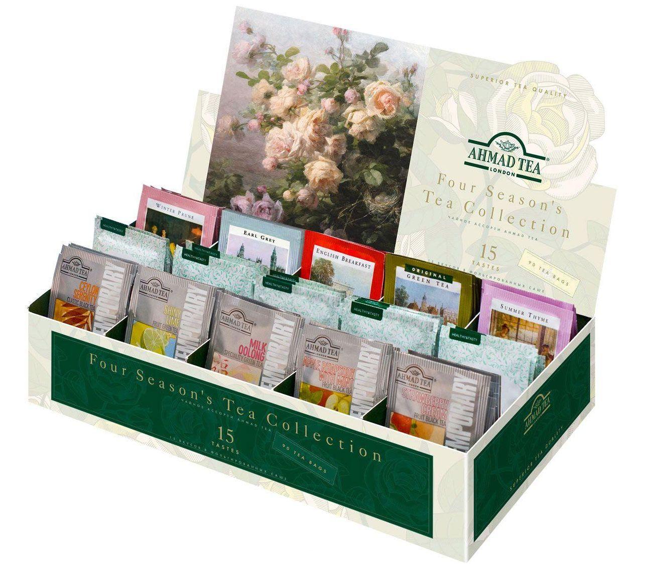Подарочный набор чая в пакетиках