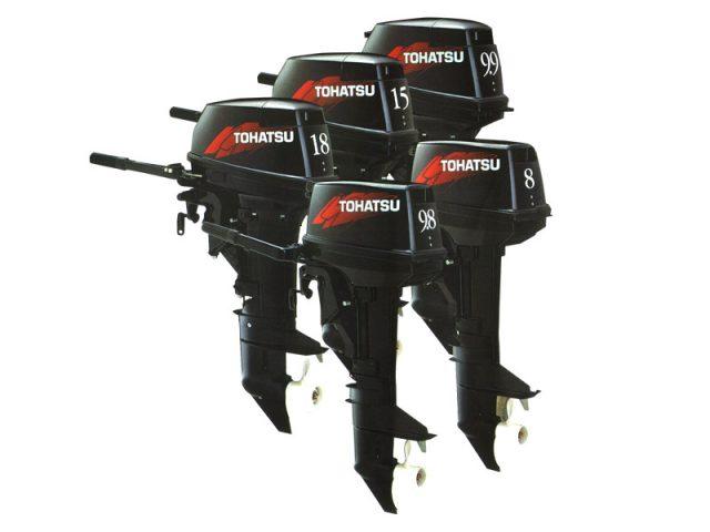 Подвесные лодочные моторыTohatsu