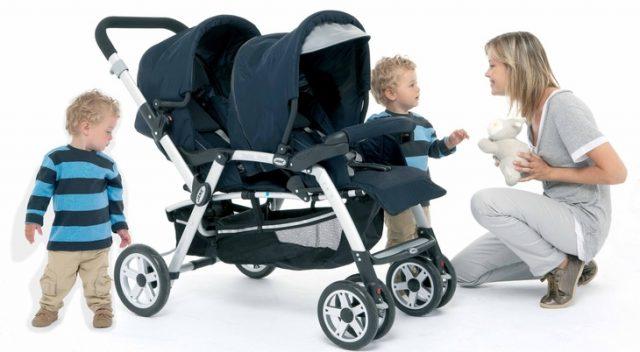 Правила выбора коляски для двойни