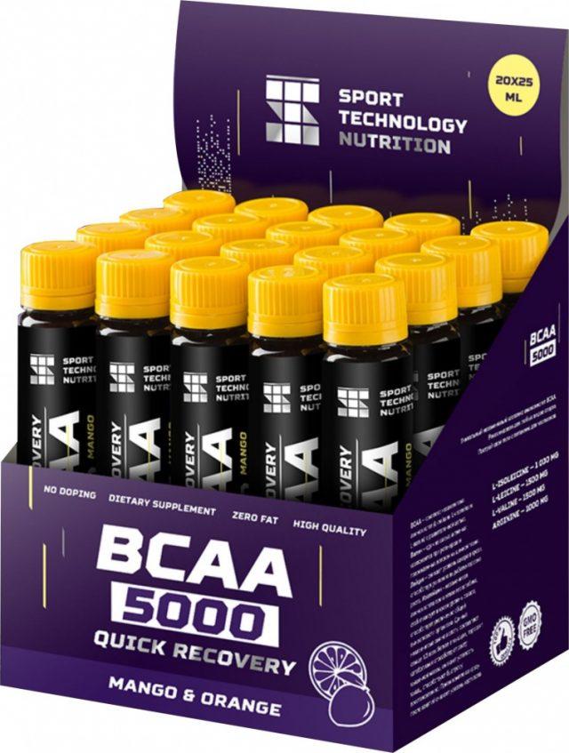 СПОРТИВНЫЕ ТЕХНОЛОГИИ BCAA-5000