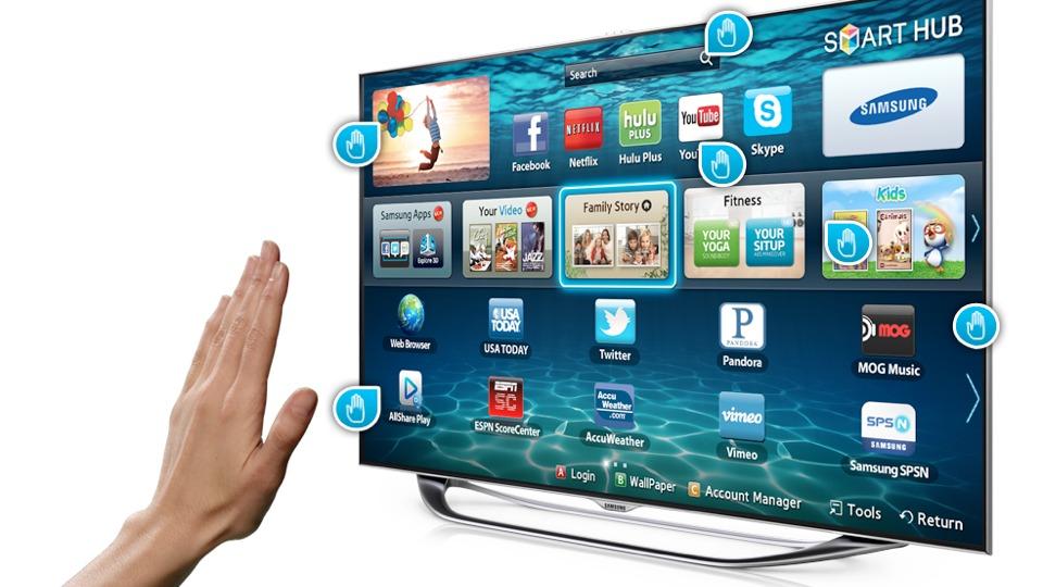 Smart-TV даже дает возможность управлять телевизором при помощи жестов