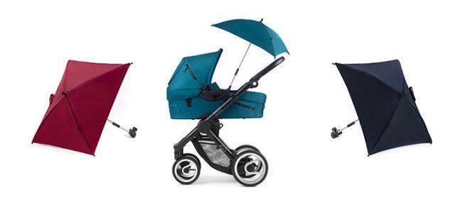 Солнцезащитный зонт - один из аксессуаров для коляски