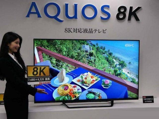 Существуют потребительские 8К-телевизоры