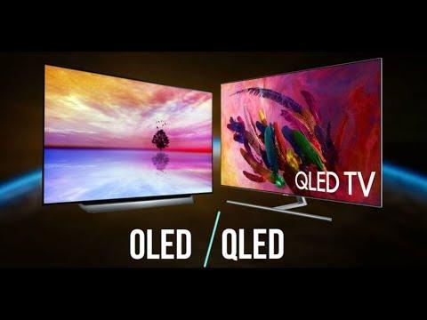Телевизоры с матрицей OLED выпускает Sony. Технология QLED - это разработка компании Samsung