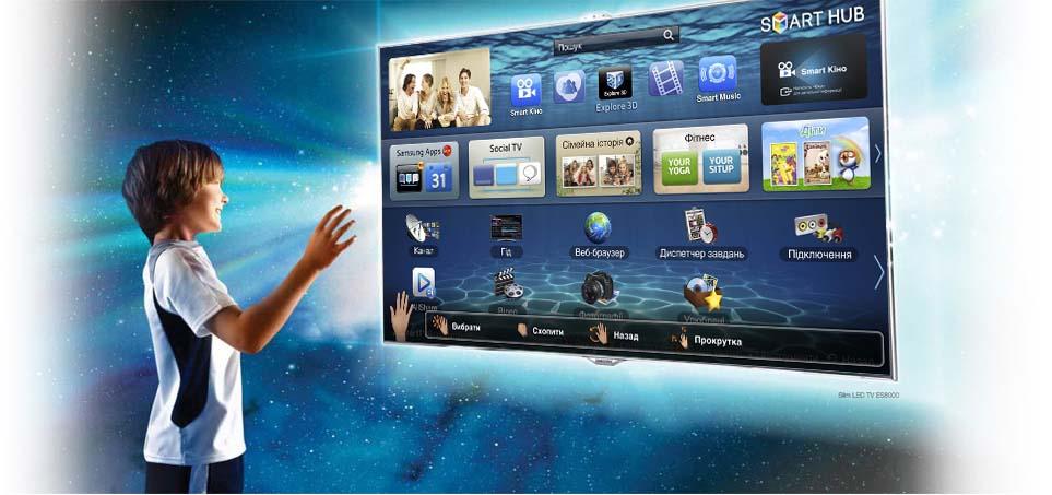 У Смарт ТВ много полезных функций