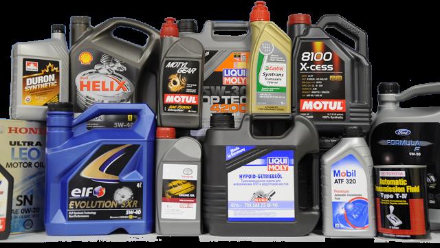 Выбор моторного масла для авто