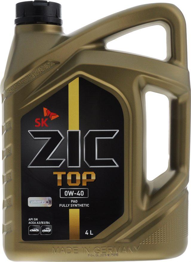 ZIC Тор 5W-40