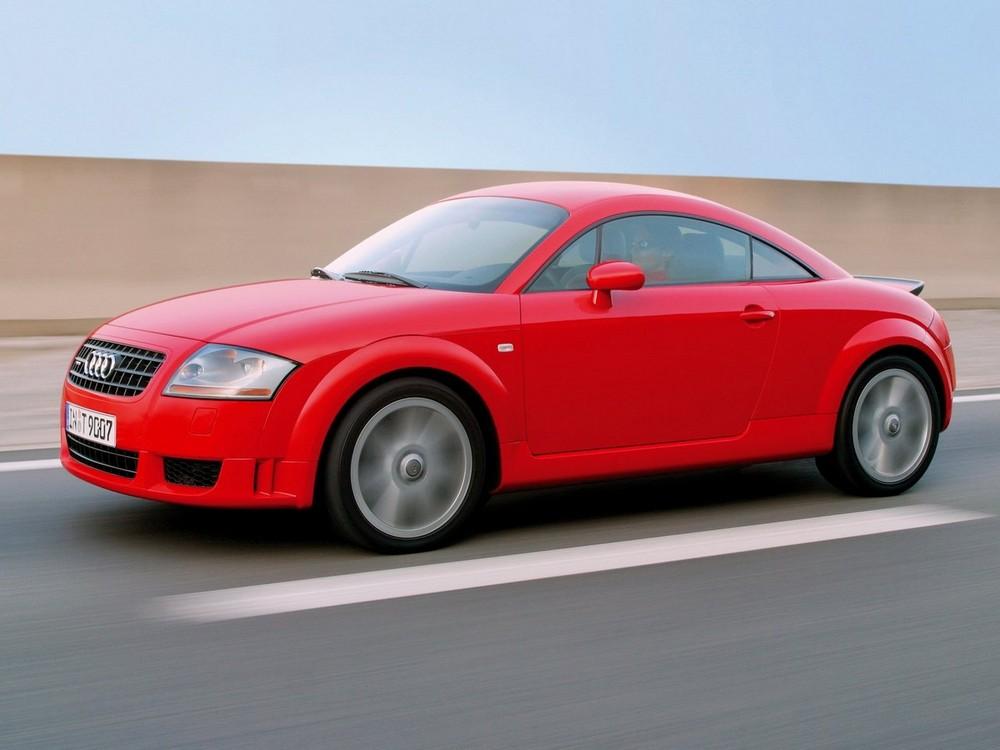 Audi TT Coupe 8N Рестайлинг