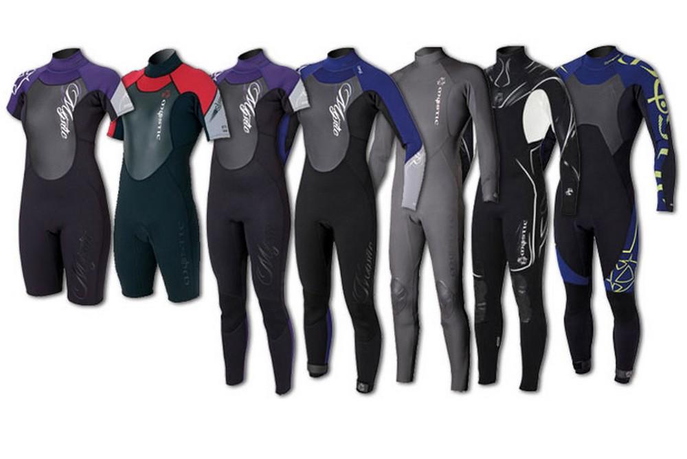 У каждого типа гидрокостюма свои особенности, выделяющие тот или иной вариант этого снаряжения