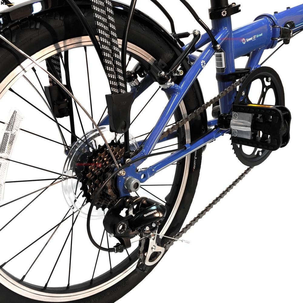 Чем больше колеса, тем удобнее ездить на велосипеде, однако складывать и транспортировать его несколько сложнее