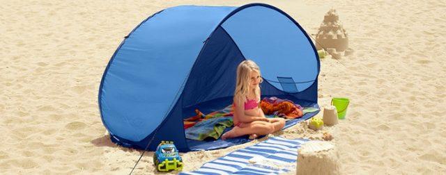 Фото пляжной палатки