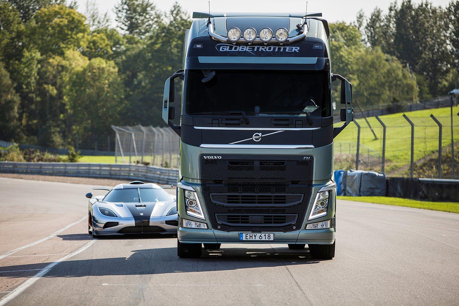 Грузовики Volvo FH