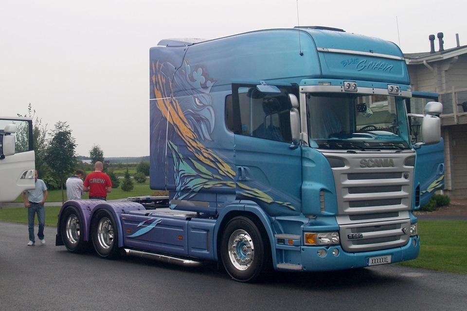 Магистральный грузовик Scania Longline