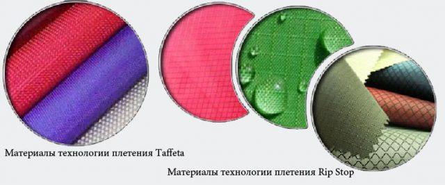 Материалы разных технологий плетения