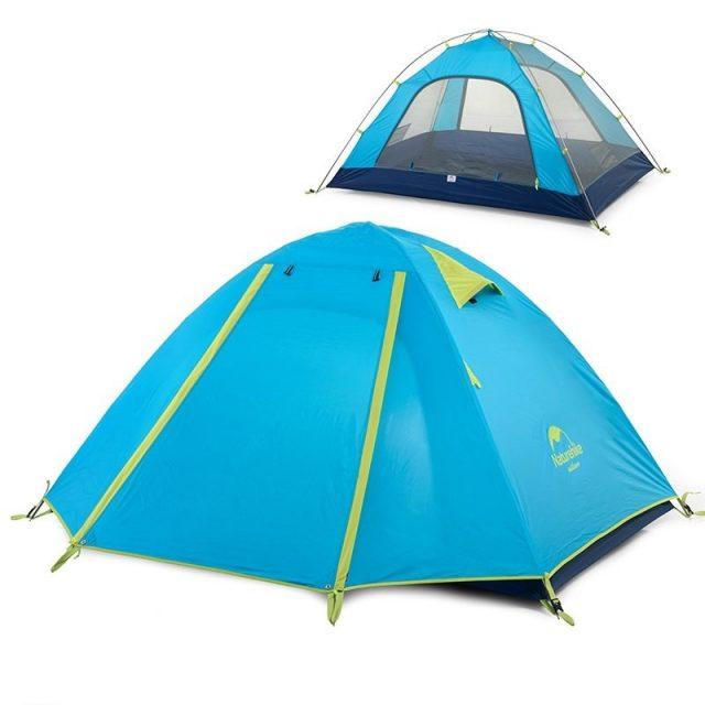 Трекинговая палатка из полиэстера