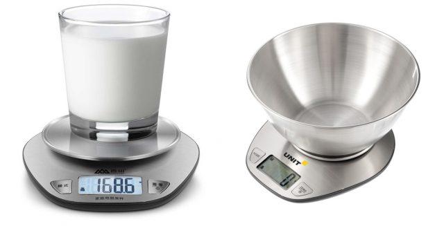 Весы со съемной чашей могут использоваться как панель