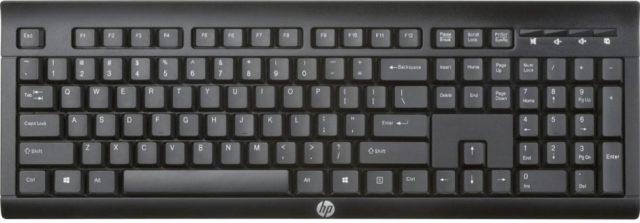 HP K2500 Black USB