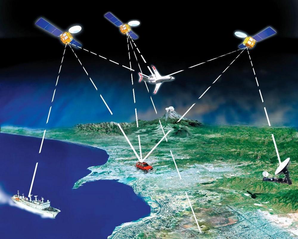 GPS система сильно помогает в навигации