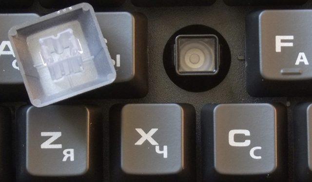 Мембранные клавиши